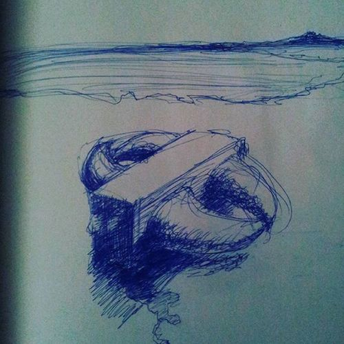 Year: 2006 Drawing Drawingshades Hrgiger Surealdrawing Dalí Surealism Dreamlandscape Dream Blue Bluedrawing Artlandscape Cube Box Fight Horns Sea Ocean Oceanside Lost Lostplaces Shadow Miami Miamiart Germanabstracts Germanartist germanberlin futureart future