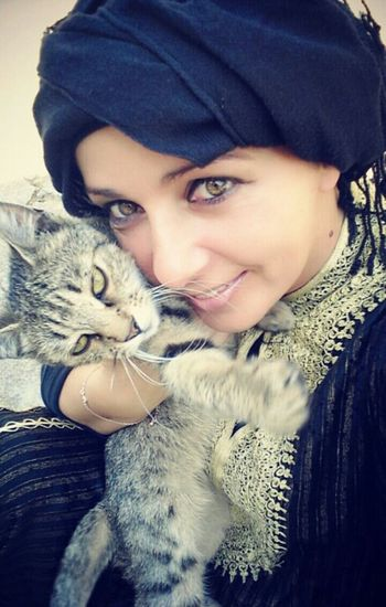 Princess & me Beauty Kitty Taking Photos Snapshots Of Life Princess Playing With The Animals Eyembestshots Love Blackhijab The Portraitist - 2015 EyeEm Awards