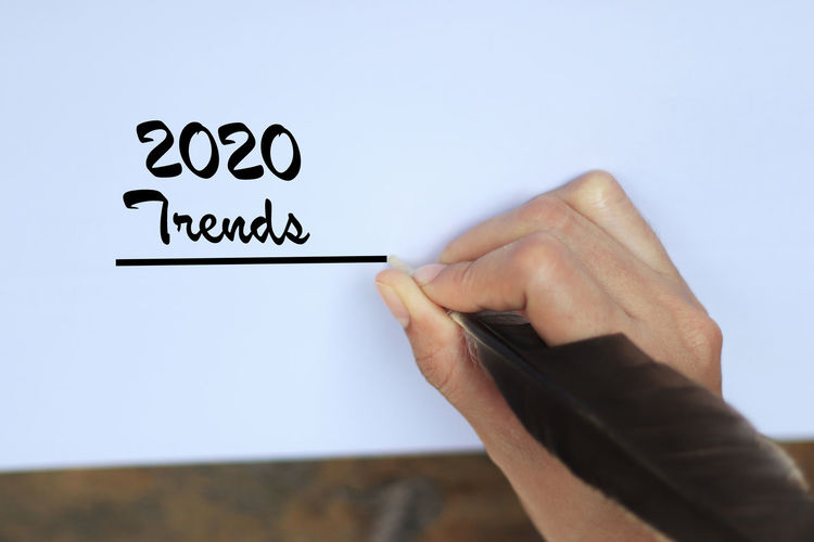 2020 trends On