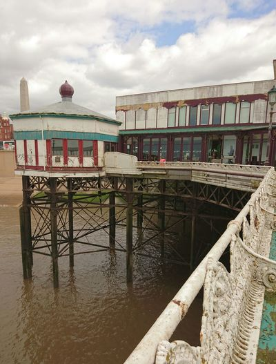 Pier Attraction Decrepit Old Buildings Day Out Check This Out Taking Photos Hello WorldHoliday Holiday Resort Sea Seaside Seafront North Oier, Blackpool, UK.