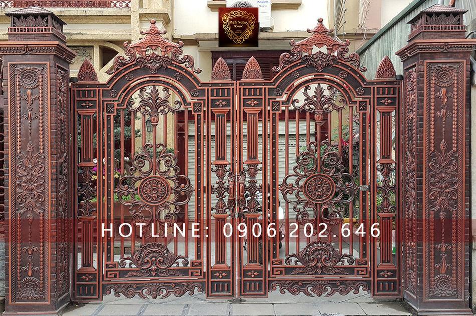 Mong muốn được vượng cả tài lộc lẫn may mắn và đặc biệt thân tâm an lạc, tâm hồn thư thái là thực tâm cổng nhôm đúc Tuyệt Sắc Sa Môn mang lại. http://thinhvuonghouse.com/san-pham/mau-cong-nhom-duc Cong Nhom Duc