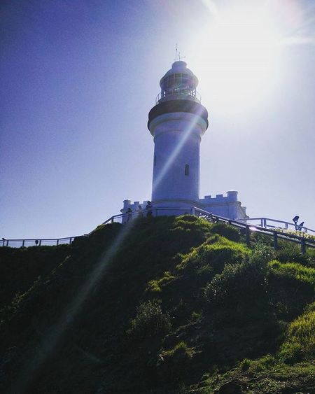 Lighthouse Wonderfulevening Byronbay Walkingtrack