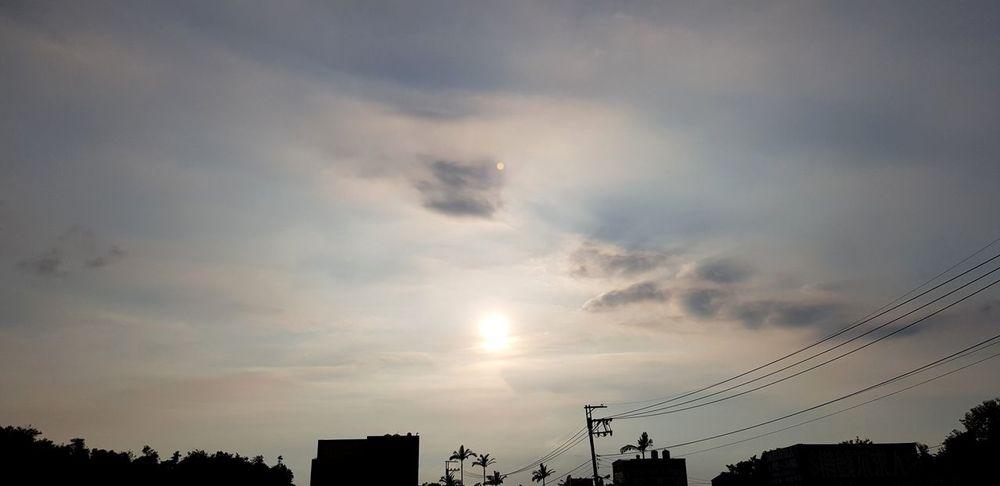 Sunset Flying Silhouette Sky Cloud - Sky