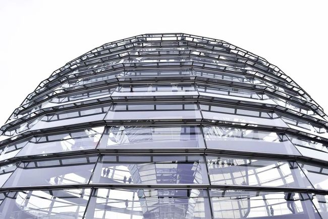 Berlin Architecture Built Structure Building Exterior City Modern Government Futuristic Travel Destinations No People Outdoors Clear Sky Sky Day Dome Parlamento Parlament Travel Traveling Travelphotography Nikon Photography Like4like