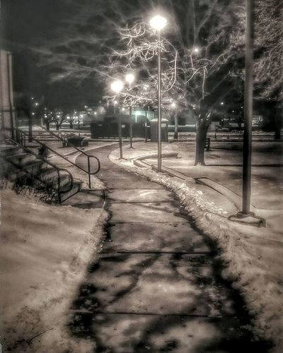 Library lil bit ago....... Ks_pride Nightphotography Snow Winterslight Lovenightphotos