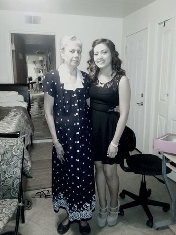 my aunt means everything me ♥ I love her ! Yuya Bestaunt Homecomingday