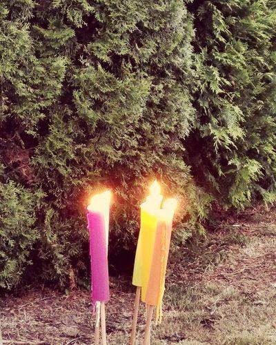 Kerzen am abend