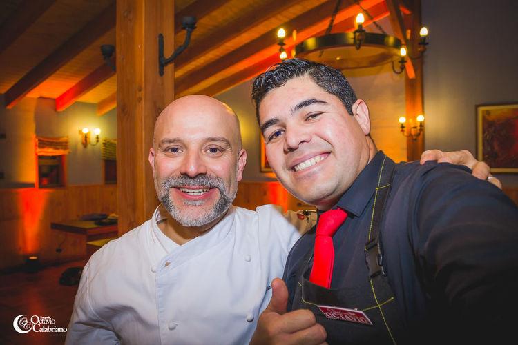 La visita de un maestro de la cocina Alvarolois Masterchef