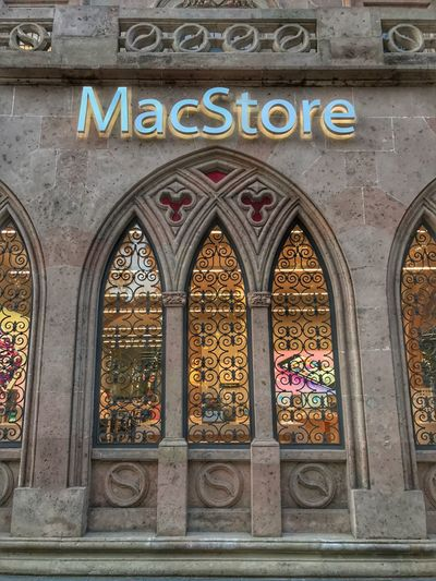 Mac Store Text Day Window Architecture No People Built Structure Outdoors Multi Colored Building Exterior Mexico City Mexico Cdmx Torrereforma PaseoDeLaReforma MacStore Macstoremexico