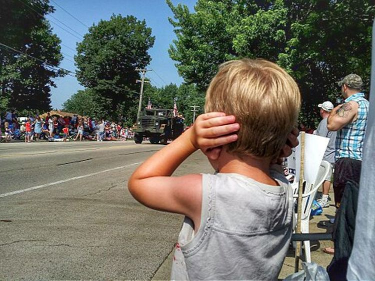 Boy covering ears at a parade Kids Being Kids Color Eye4photography  Color Photography Parades Parade Time Parade Summertime Summer Childhood Memories Americana America Children Photography Childhood Child Boy Kids Kids Having Fun Having Fun Colors EyeEm Gallery EyeEm Best Shots Forth Of July July4th July 4th