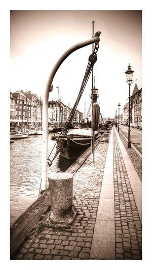 Kopenhagen Kongenshave Streetphotography Miasto Sorthvit Czarno-białe Kongens Nytorv Sonyxperiaz1
