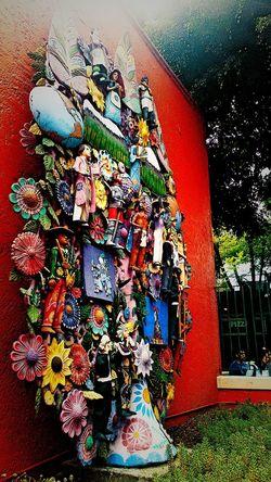 Arbol de la vida! Coyoacan Street Mexico DF Arboldelavida Museo