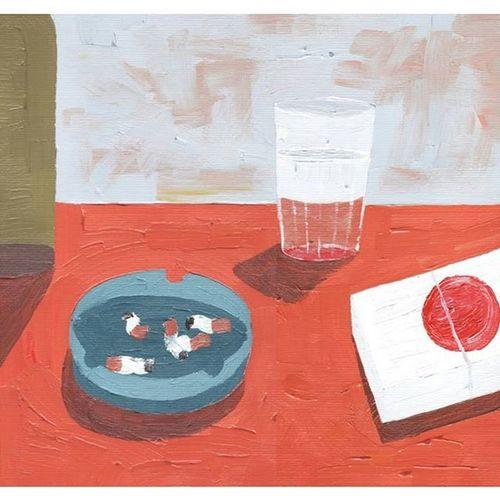 Acrílica sobre papel Josemianutti Acrylicpaiting Paiting Contemporaryart Artist Brazilianart Art Acrylic