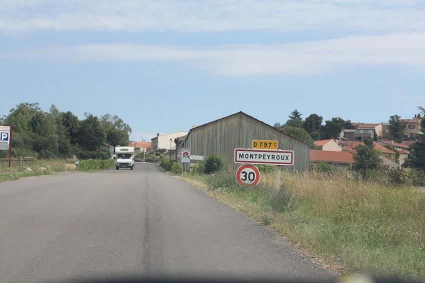 Village Auvergne Town L'auvergne