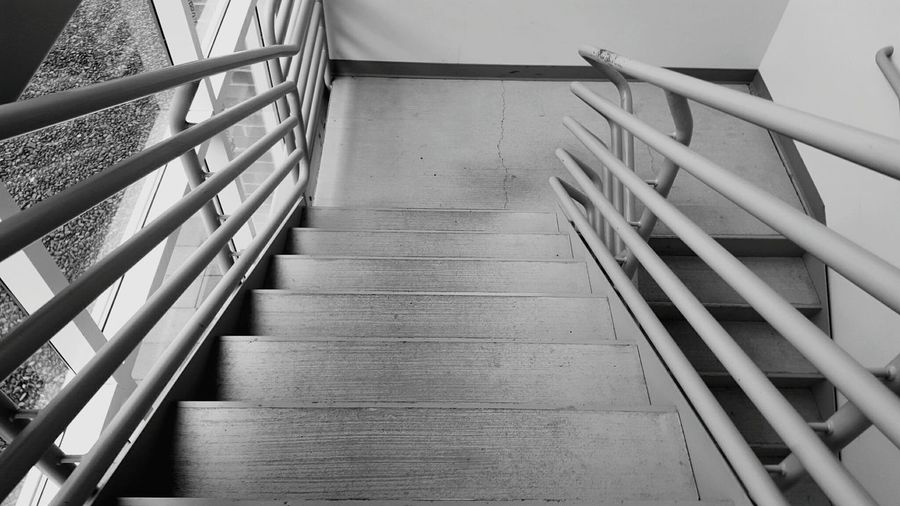 Stairs Going Down Steps Decend Walking Showcase: January Minimalist Architecture