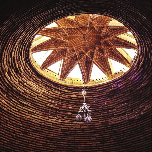 Architecture Ceiling Architectural Feature Yazd Yazd,Iran Brick Wall Fresh On Eyeem