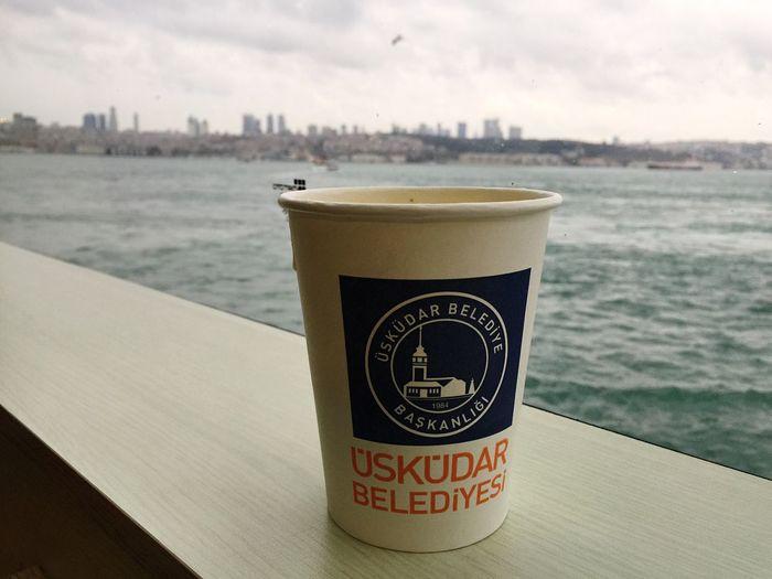 Winter Cold Istanbul Uskudar Besiktas Sıcak çorba Deniz Vapur