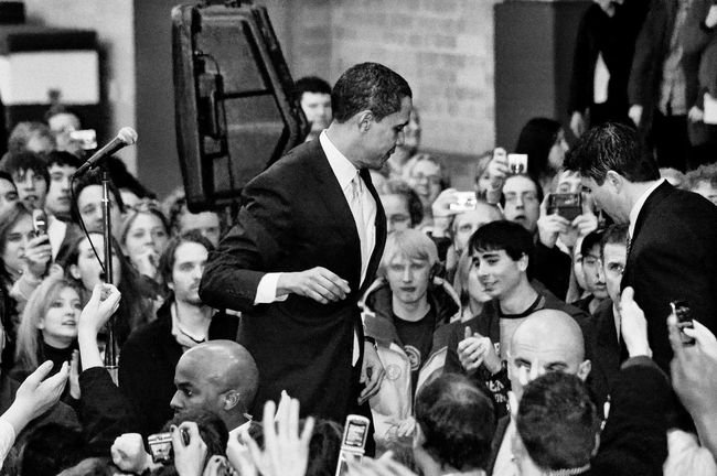 Barack Obama Black & White Obama Obama 2008 Speech Actor Adult Adults Only Arts Culture And Entertainment Audience Barackobama Black And White Black And White Photography Black&white Blackandwhite Blackandwhite Photography Blackandwhitephotography Campaign Rally Campaign Speech Crowd Day Democracy Fame Fan - Enthusiast Fashion Show Film Industry Indoors  Large Group Of People Men People Performance Politics Presidential Campaign 2008 Presidential Election Street Photography Streetphotography Stump Speech Television Show The Media Women
