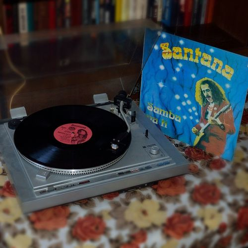 Carlos Santana Vinyl Bootleg Turntable