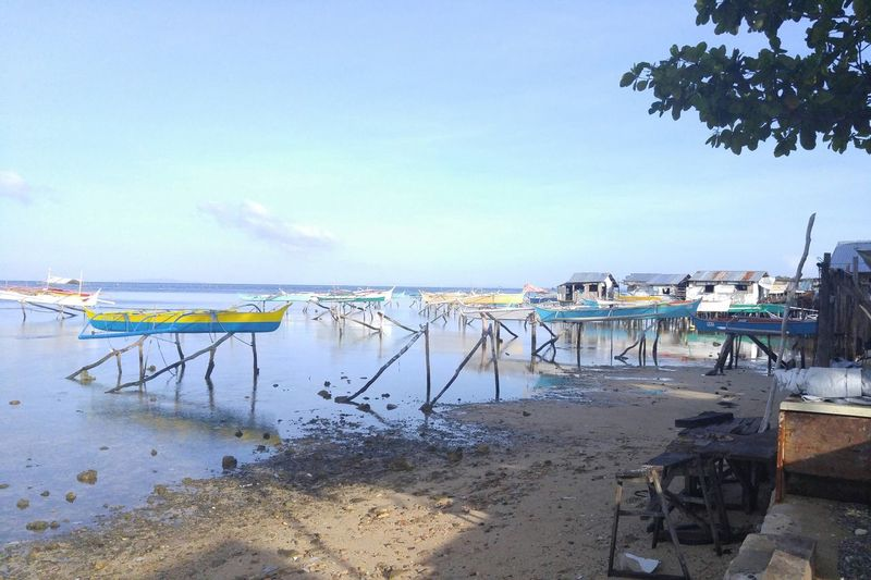 The Port right in front of St. Anthony Church Guiuan Eastern Samar Eyeem Philippines
