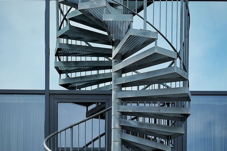 Spiralstaircase Perspective Simplicity Minimalism Urbanphotography Urban Geometry Cityexplorer Beauty In Ordinary Things Architecture Stairways Geometric Shapes