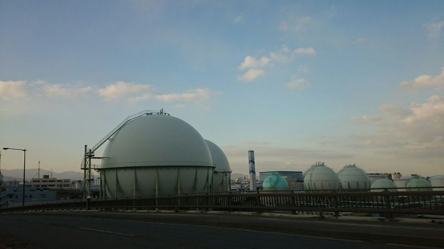 Big Round Storage Tanks
