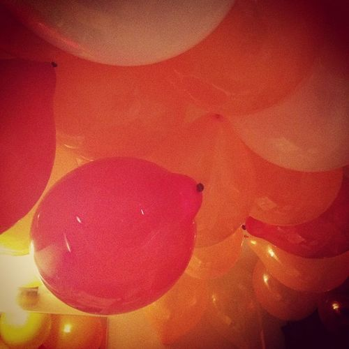 House of balloons ! SistersBridalShower