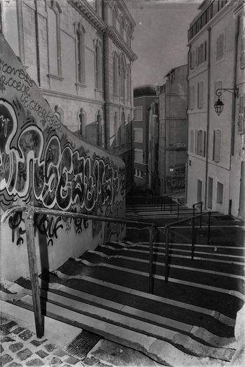 Graph Stairs Escalier Architecture Built Structure Building Exterior History Travel Destinations No People Outdoors