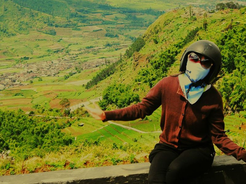 Nice 👣👣 Happy Time BeautyfullIndonesia Nature Day Outdoors Dieng Indonesia