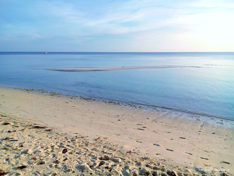 One tiny sandbar. Taking Photos Enjoying Life Relaxing More Fun In The Philippines  Being A Beach Bum Quality Time Lowtide  Sea Enjoying The Sun Check This Out