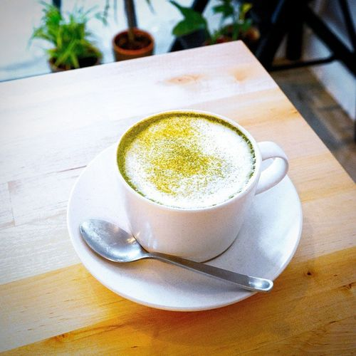 Like the rather mild tasting Matcha Latte of this place. The Matcha doesn't have that overwhelmeingly metallic taste typical of those other matcha latte served at other places and not too sweet too. Burpple Thetastemakerstore Japanesestylecafe Cafesg matchalatte hdbcafe