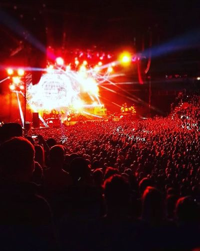 Slipknot Prague O2arena Concert Rock Music Concert Of The Year Maggots Experience 2016 Show