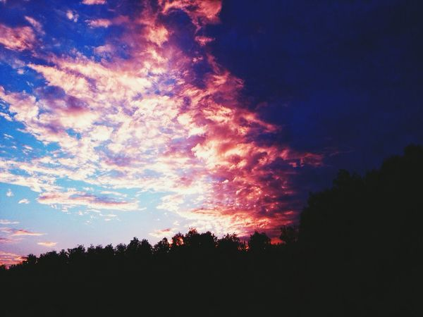 Russia EyeEm Nature Lover Sky I See Nature_collection Nature Blue And Pink Blue And Pink Sky