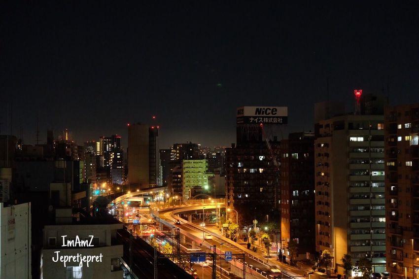 When feeling cool n niteshoot from Urvest hotel roof Ohmori- Tokyo Light And Shadow Niteshots Roof Fuji Fujifilm Fujifilm_xseries Fujixa1
