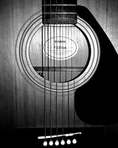 Guitar Acoustic Acousticguitar Acoustic Guitar Yamahaguitar Yamaha Closeup Close-up Macro First Eyeem Photo