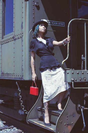 To The Future Young Women Occupation Working Standing Women Fashion Haute Couture Pretty Fashion Model Thoughtful Posing