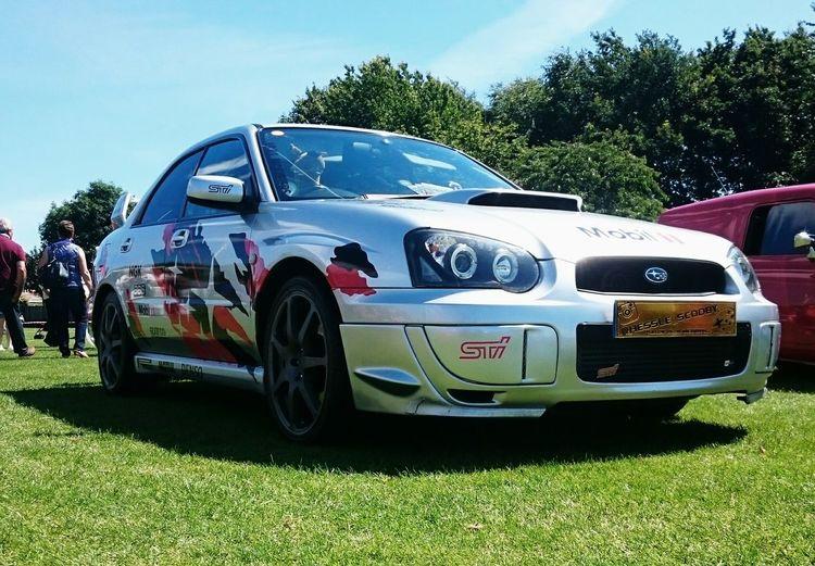 Subaru Impreza Wrx STI Scooby Decals Summer