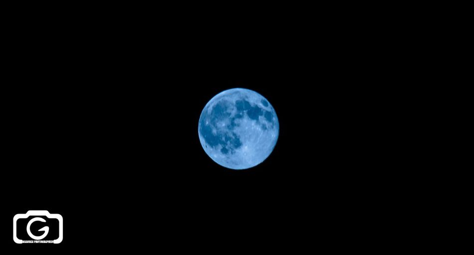 Bluemoon Check This Out Moon Nightphotography
