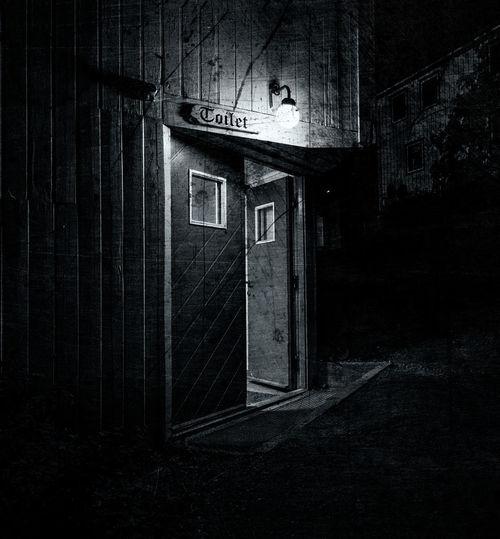 Architecture Lowlight Norway Toilette Art Arctic Blackandwhite Door Monochrome First Eyeem Photo