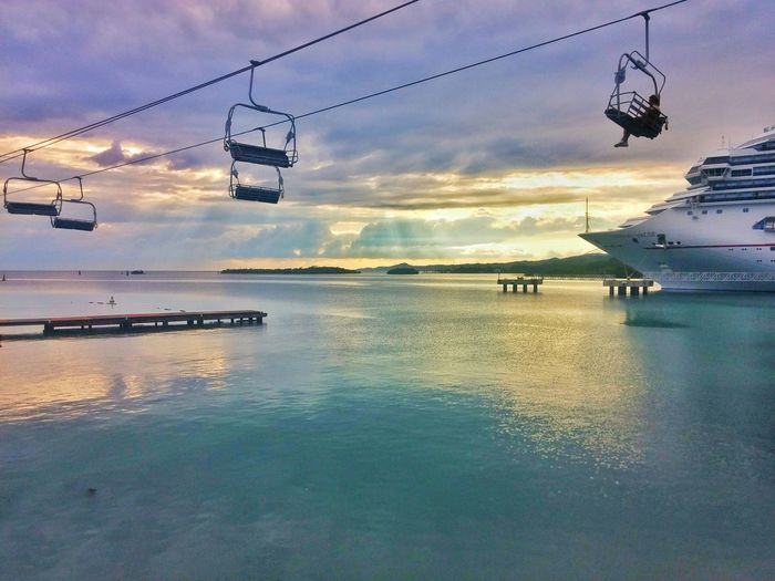 Sunset Skilift
