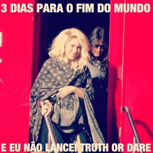 HumorShakir ístico Shakirabrasil Shakira Truthordare