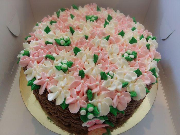 Baking Cake Basket Flower Cake My Job 😙😙