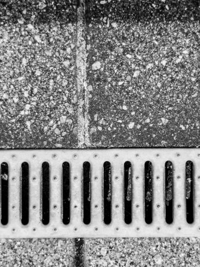 Metal Day Sewage Manhole  No People Sewer High Angle View Street Road Directly Above Gutter Pattern Grate Grid Asphalt Metal Grate Outdoors Weathered