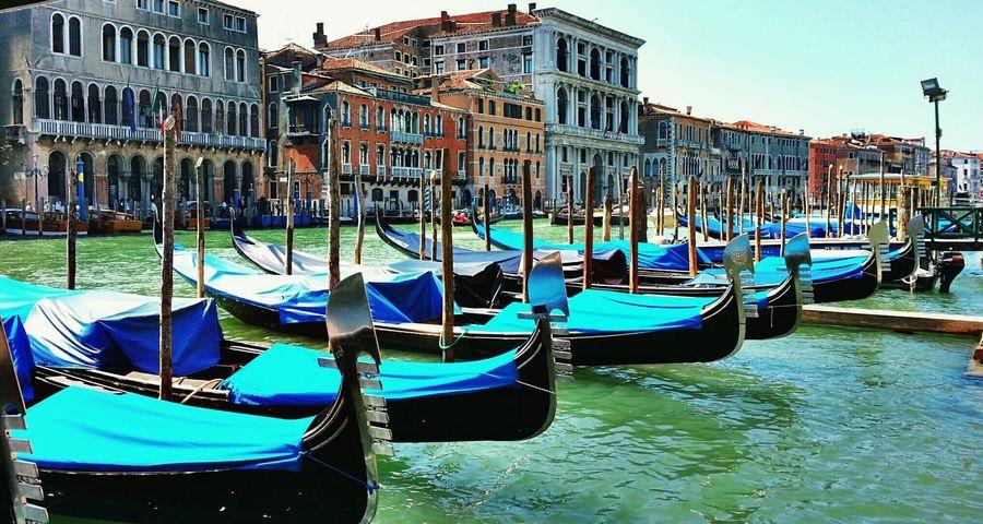 Gondola in Venice Travel Photography Venice, Italy Gondola Gondole In Venice Italy🇮🇹 Venice Sunandsea Travel Watercity Fresh On Eyeem  Original Experiences Feel The Journey