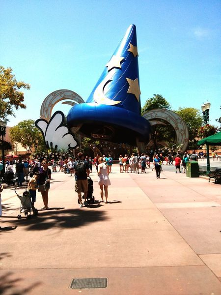 Once it was Sorcerer's Hat Themepark Theme Park Themeparks Theme Parks DisneyWorld Disney Disneyland Outdoors Daytime Day Daydreaming Dayoff