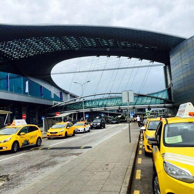 ДОМОДЕДОВО Airport Domodedovo Moscow Taxi Architecture Turistic