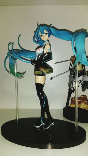 Collezione Vocaloid Mikuhatsune Racing 01 Action Figures