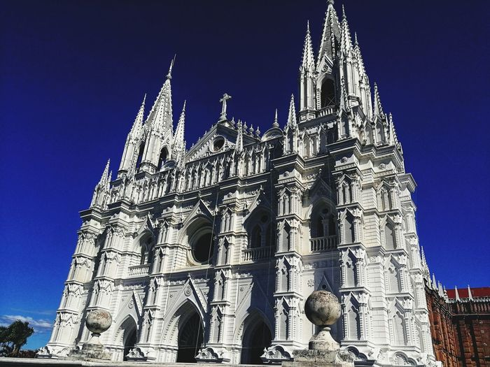 EyeEmNewHere Religion Architecture Low Angle View History Gothic Style Outdoors Built Structure Place Of Worship Travel Destinations City Sky Building Exterior