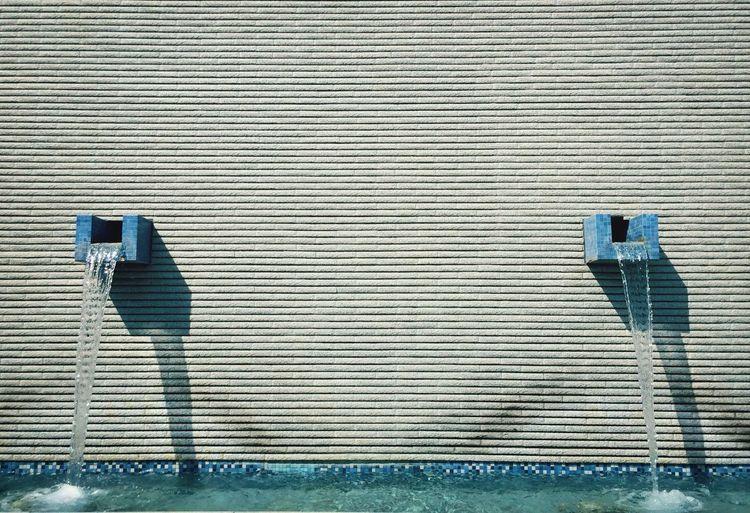 Fountain in wall