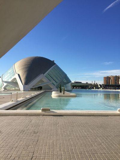 Architecture Blue Sky Calatrava S Science City València